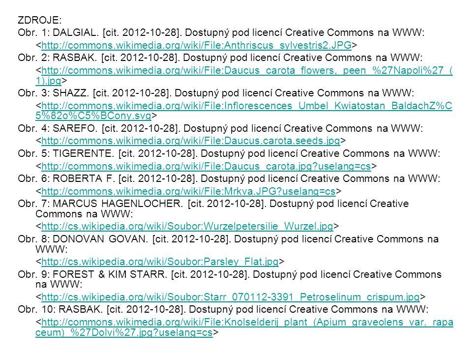 ZDROJE: Obr. 1: DALGIAL. [cit. 2012-10-28]. Dostupný pod licencí Creative Commons na WWW: